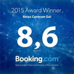 Booking Award 2015